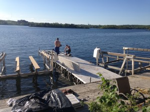 SUDBURY dock installation